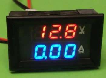 Mini Digital Voltmeter Ammeter with LED display